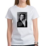 Arthur Schopenhauer Truth Women's T-Shirt
