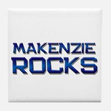 makenzie rocks Tile Coaster