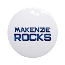 makenzie rocks Ornament (Round)