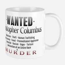 Wanted - Christopher Columbus Mug