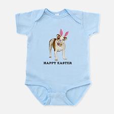 Bulldog Easter Infant Bodysuit