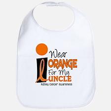 I Wear Orange For My Uncle 9 KC Bib
