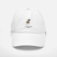 Bulldog Mardi Gras Baseball Baseball Cap