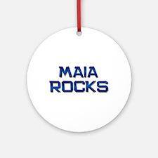 maia rocks Ornament (Round)
