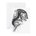 Tarpon Dragonesque Greeting Cards (Pk of 10)