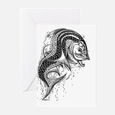 Tarpon Dragonesque Greeting Cards (Pk of 10)