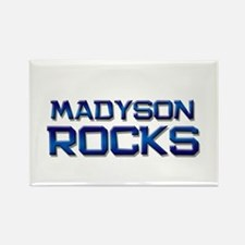 madyson rocks Rectangle Magnet