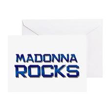 madonna rocks Greeting Card