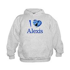 I Love Alexis Hoodie