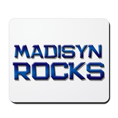 madisyn rocks Mousepad