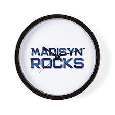 madisyn rocks Wall Clock