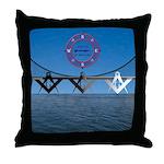 The Masons Bridge Throw Pillow