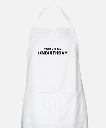 Unbirthday Presents BBQ Apron