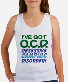 OBSESSIVE CAMPING DISORDER Women's Tank Top