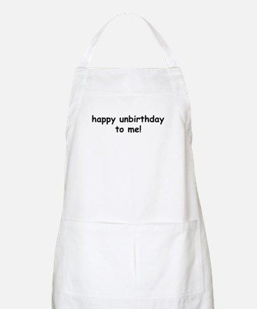 Happy Unbirthday BBQ Apron