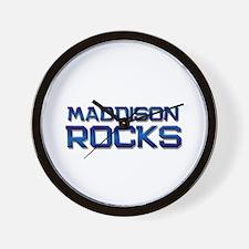 maddison rocks Wall Clock