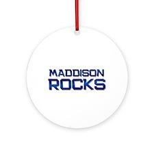 maddison rocks Ornament (Round)