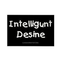 Intelligunt Desine Rectangle Magnet (10 pack)