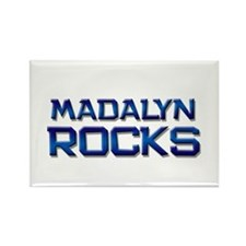 madalyn rocks Rectangle Magnet