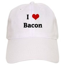 I Love Bacon Baseball Cap