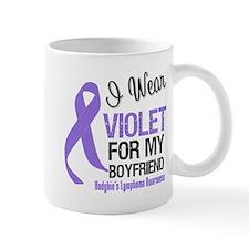 I Wear Violet Boyfriend Mug