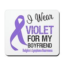 I Wear Violet Boyfriend Mousepad