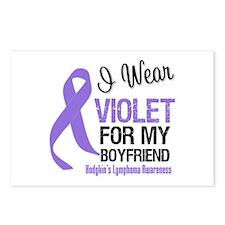 I Wear Violet Boyfriend Postcards (Package of 8)