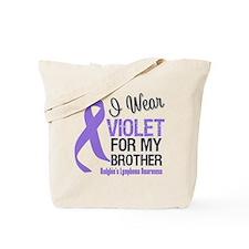 I Wear Violet For Brother Tote Bag