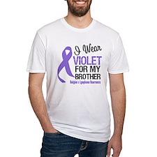 I Wear Violet For Brother Shirt