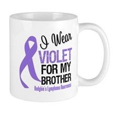 I Wear Violet For Brother Mug