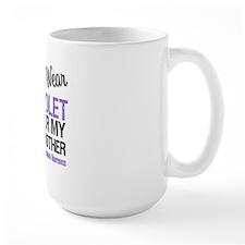 I Wear Violet For Brother Mug