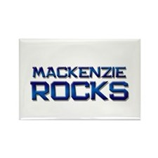 mackenzie rocks Rectangle Magnet (10 pack)