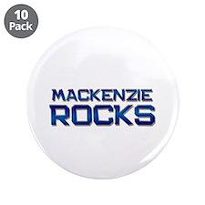 "mackenzie rocks 3.5"" Button (10 pack)"
