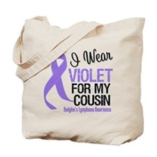I Wear Violet For Cousin Tote Bag