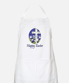 Easter Lily Cross BBQ Apron