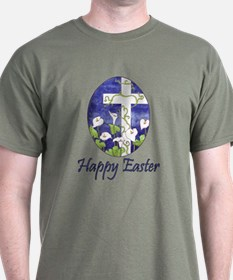 Easter Lily Cross T-Shirt