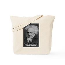Pessimism / Schopenhauer Tote Bag