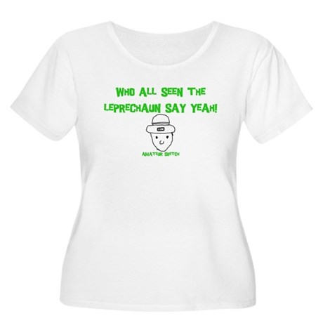 Who seen the leprechaun? Women's Plus Size Scoop N