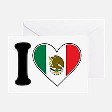 I Love Mexico Greeting Card