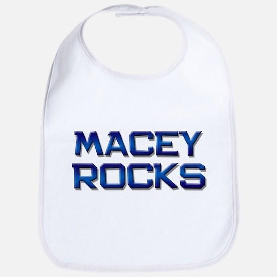 macey rocks Bib