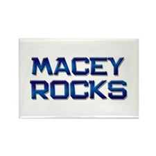 macey rocks Rectangle Magnet