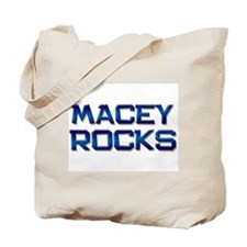 macey rocks Tote Bag