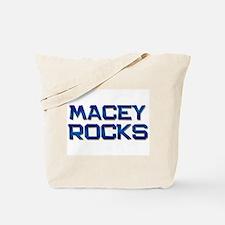 macey rocks Tote Bag