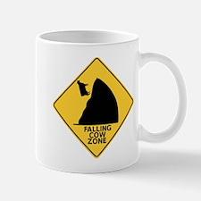 FALLING COW ZONE Mug