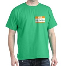 Pat McGroin Name Tag T-Shirt