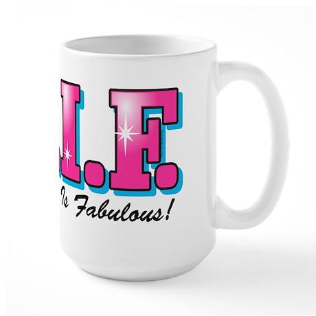 TGIF Fabulous Grandma Large Mug