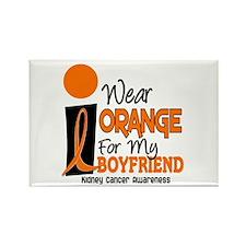 I Wear Orange For My Boyfriend 9 KC Rectangle Magn