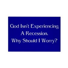 God Isn't Experiencing a Recession. Why Worry?