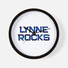 lynne rocks Wall Clock