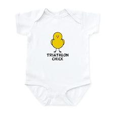 Triathlon Chick Infant Bodysuit
